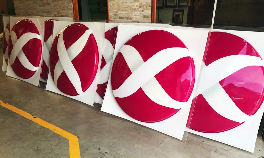 Cartelería para Axion Energy - Decaral SRL